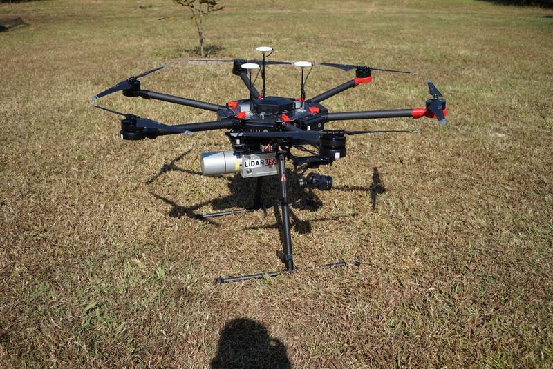 LiDAR Equipped UAVs