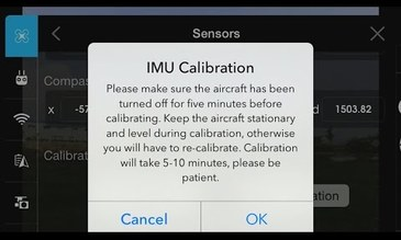 Phantom 3 Standard Tutorial - IMU Calibration
