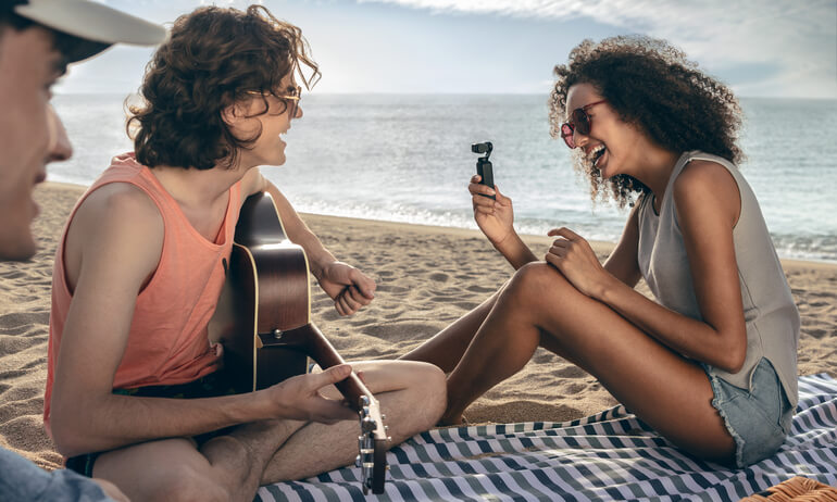 Capture Life's Moments With Ease Using The DJI Osmo Pocket Stabilized Camera