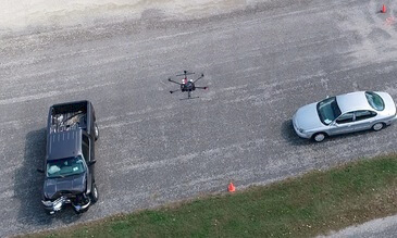 Drones For Good: Saving Time And Lives With Faster Crash Scene Reconstruction