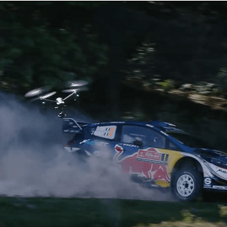 Inspire 2 - World Rally Championship