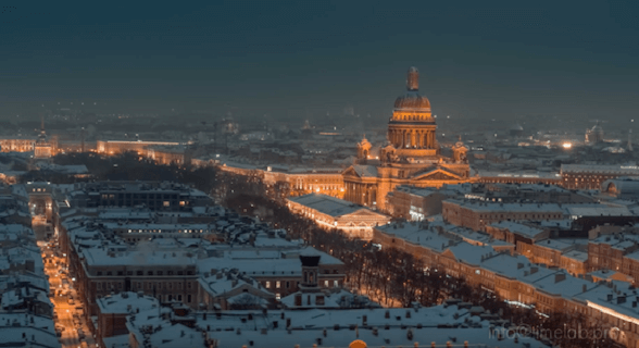 Winter in Saint Petersburg
