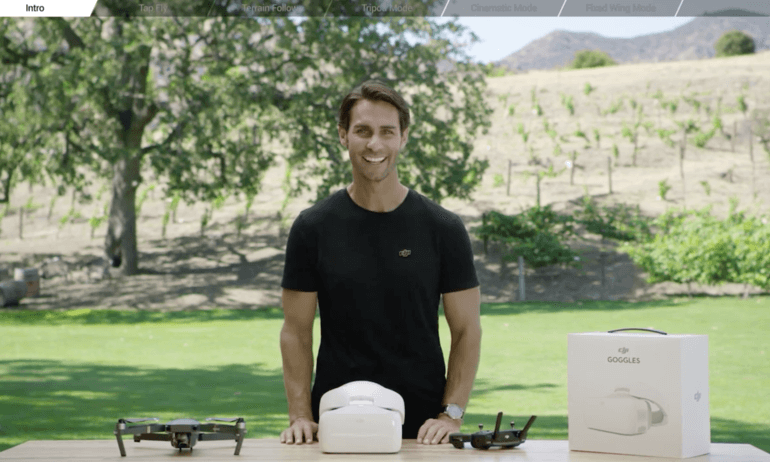 DJI – Goggles Tutorials – Intelligent Flight Modes