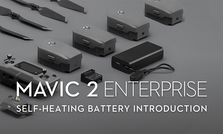 Mavic 2 Enterprise's Intelligent Battery Self-Heating Function
