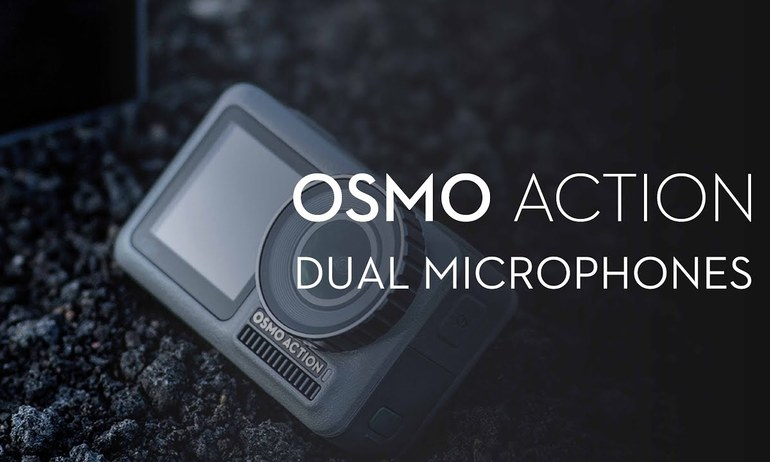 DJI - Introducing Osmo Action's Dual Microphones