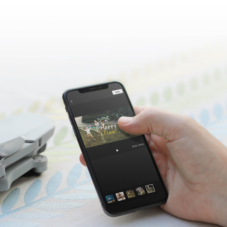 DJI mavic mini smartphone